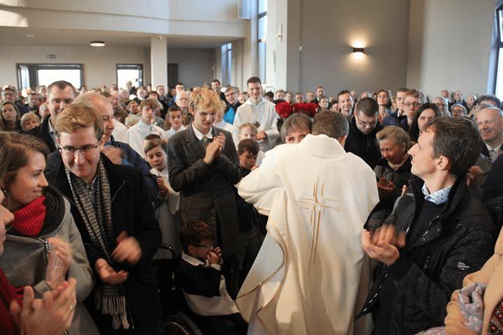 Konsekracja kościoła pod wezwaniem św. Jana XXIII w Komornikach