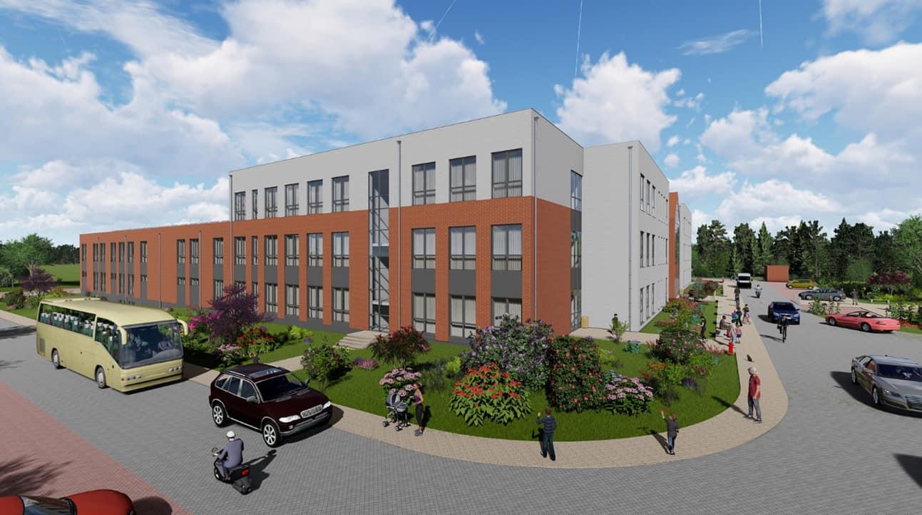 Projekt szkoły w Wirach