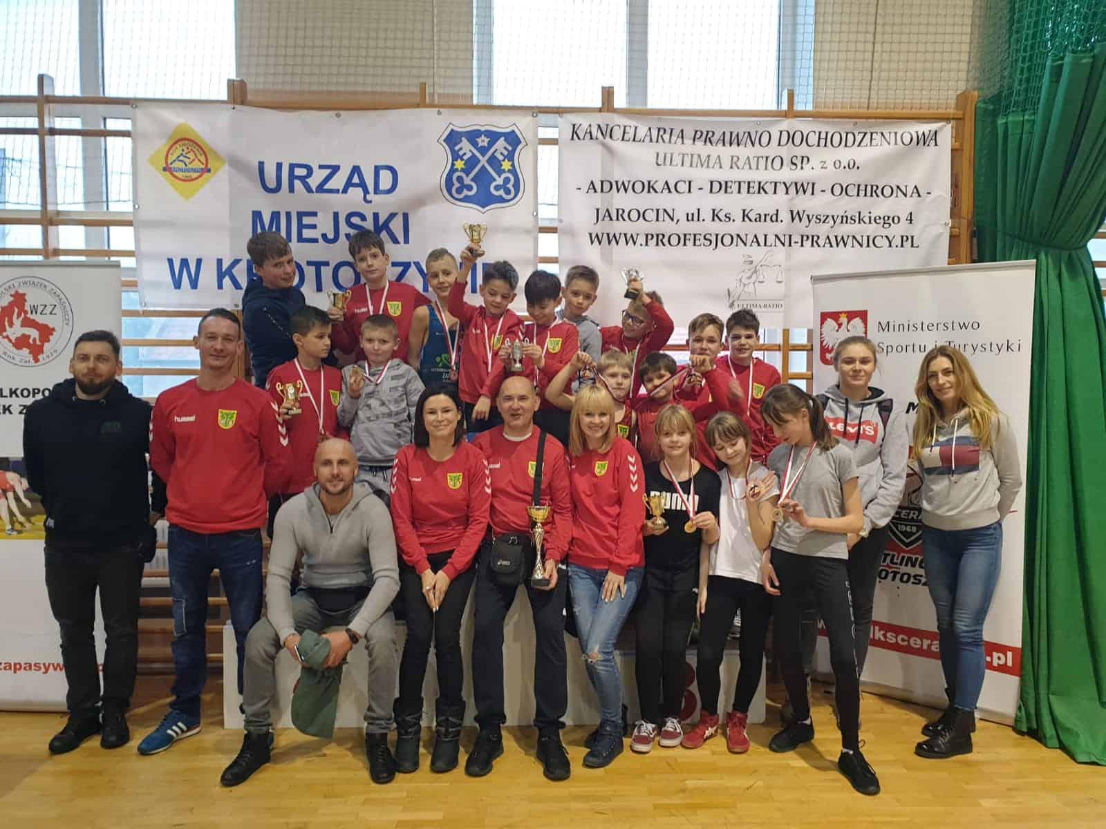 Medale zapaśników z Plewisk w Mistrzostwach Wielkopolski