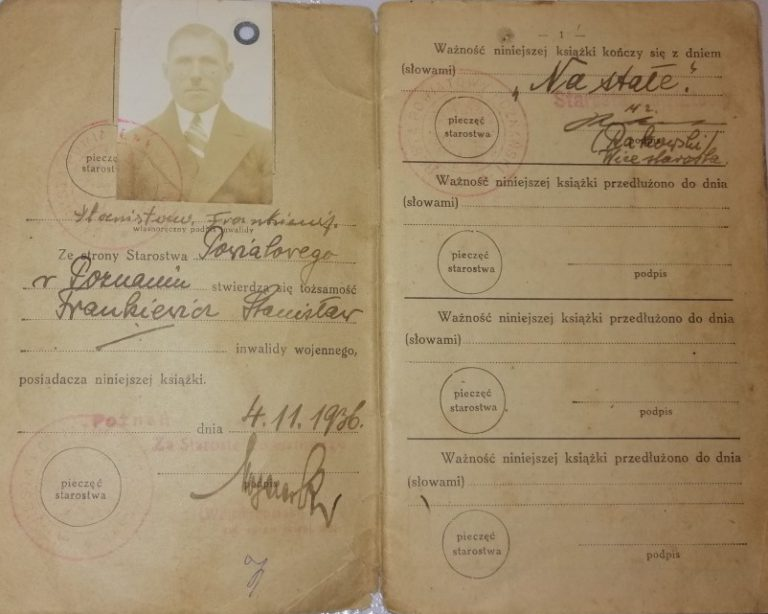 dokument Powstania Wielkopolskiego