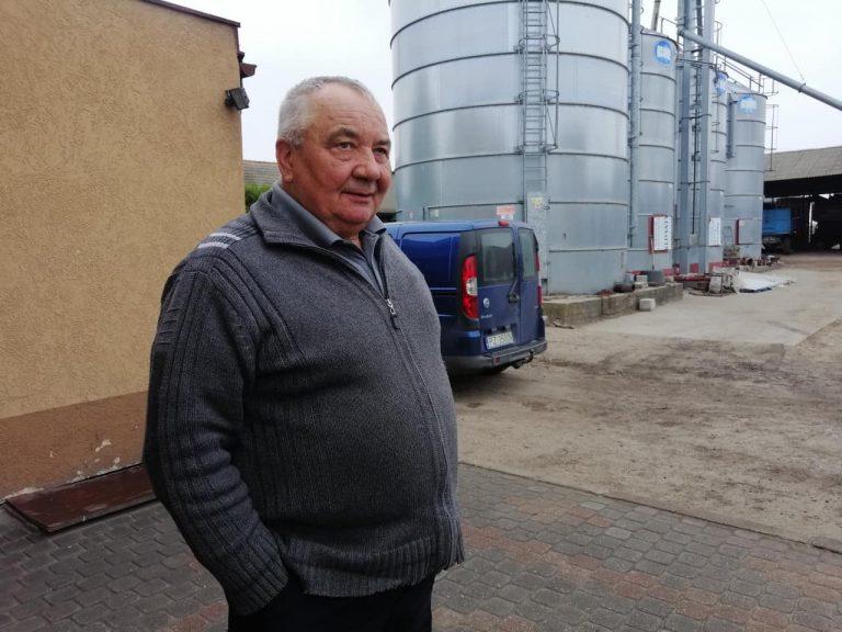 Jan Kaczmarek, rolnik z Komornik