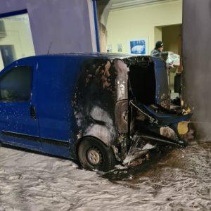 Pożar w Plewiskach