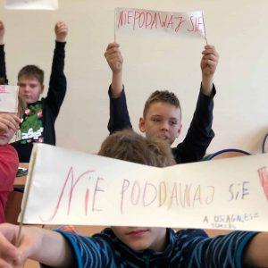 Projekt rozwojowy dla dzieci w SP nr 1 w Komornikach