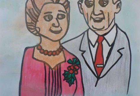 Babcie i dziadkowie artystycznie sportretowani