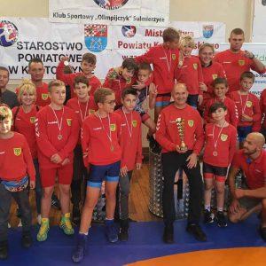 Sukcesy zawodników UKS Zapasy Plewiska