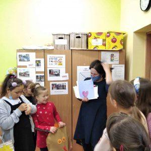 Joanna Krzyżanek odwiedziła uczniów