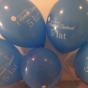 Niebieski Balonik skończył pięć lat