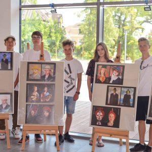 Wystawa prac uczniów SP1 w CTiK