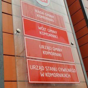 Gmina wynajmuje lokal w Komornikach
